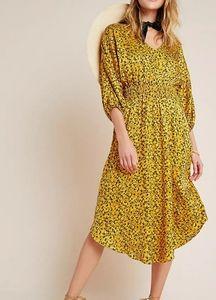 NWT- Anthropologie Marigold Midi Dress